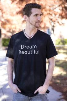 Dream Beautiful Black Vee men's
