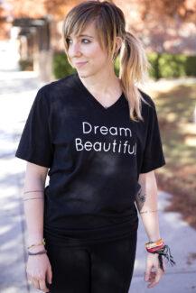 Dream Beautiful Black Vee women's
