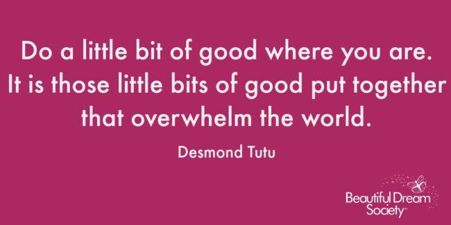 Desmond Tutu Magenta