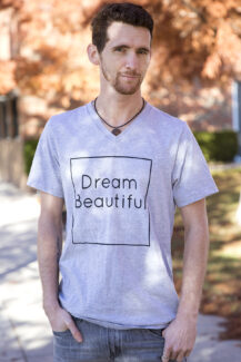 Dream Beautiful Gray Vee men's
