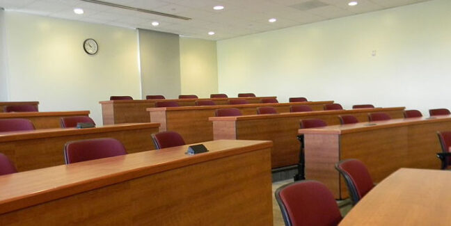 University class room