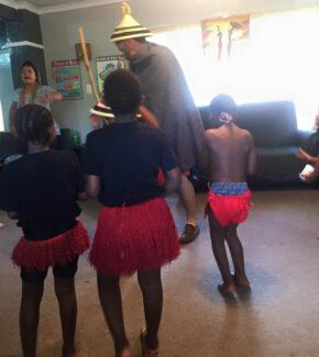 Moshoeshoe dance